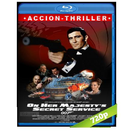 007 Al Servicio Secreto De Su Majestad (1969) BRRip 720p Audio Trial Latino-Castellano-Ingles 5.1