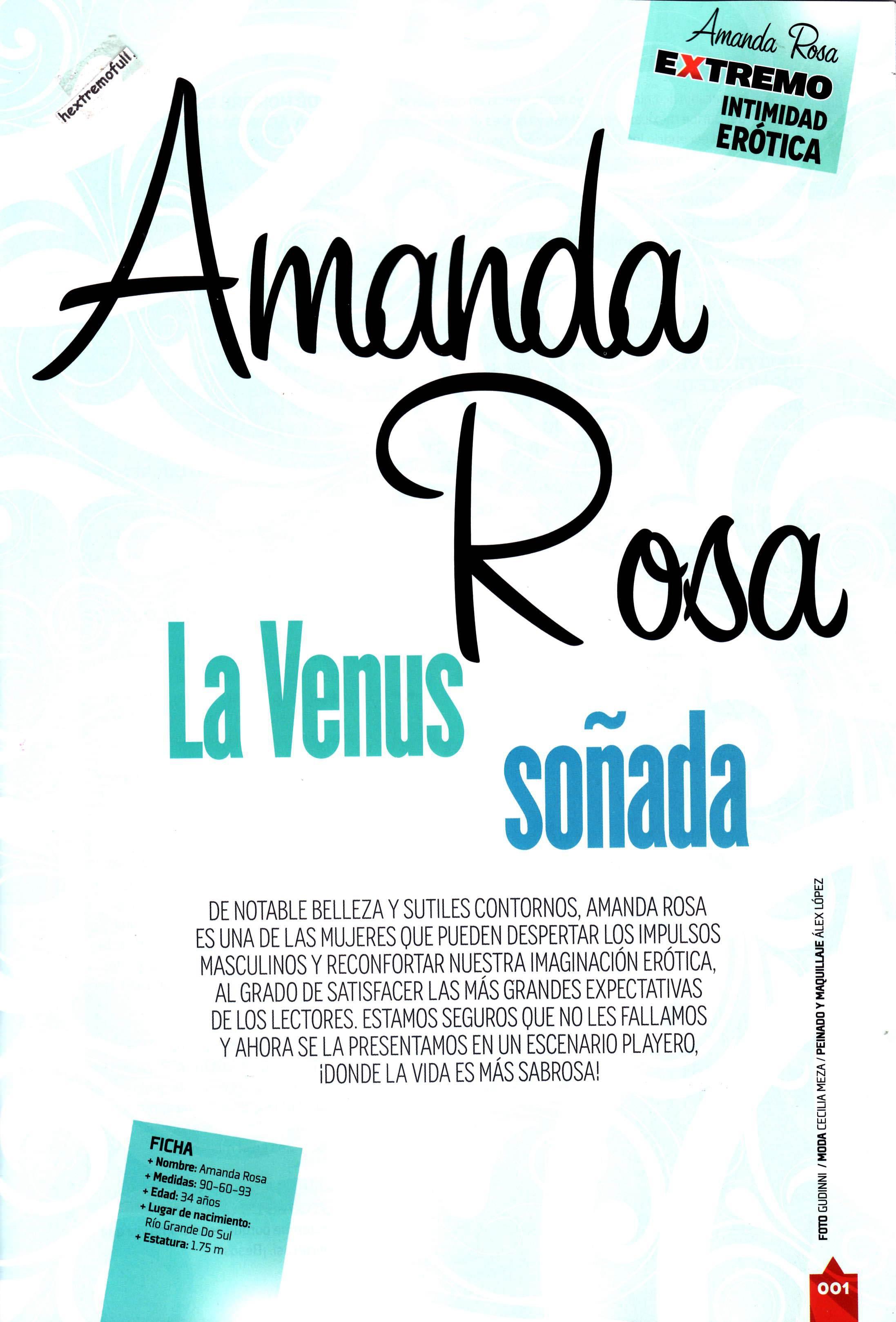Amanda Rosa Desnuda En H Extremo amanda rosa en h extremo (marzo 2015) - poringa!