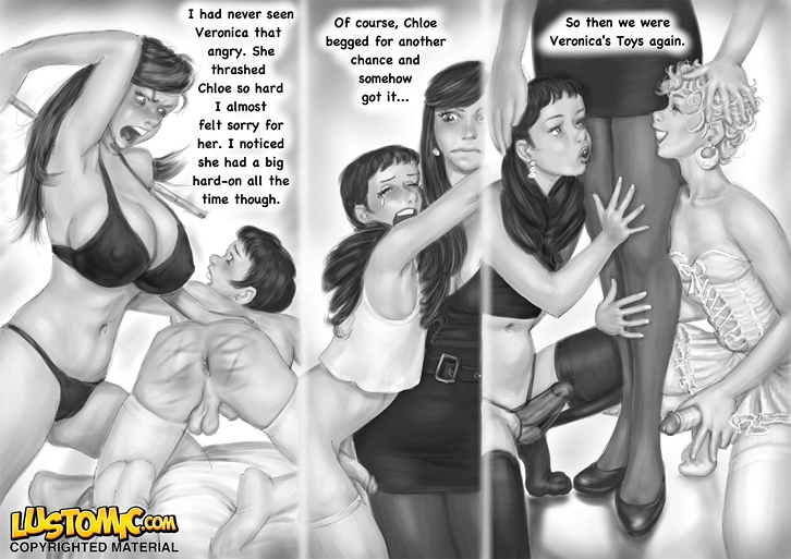 Men in bondage cartoons gay the folks need