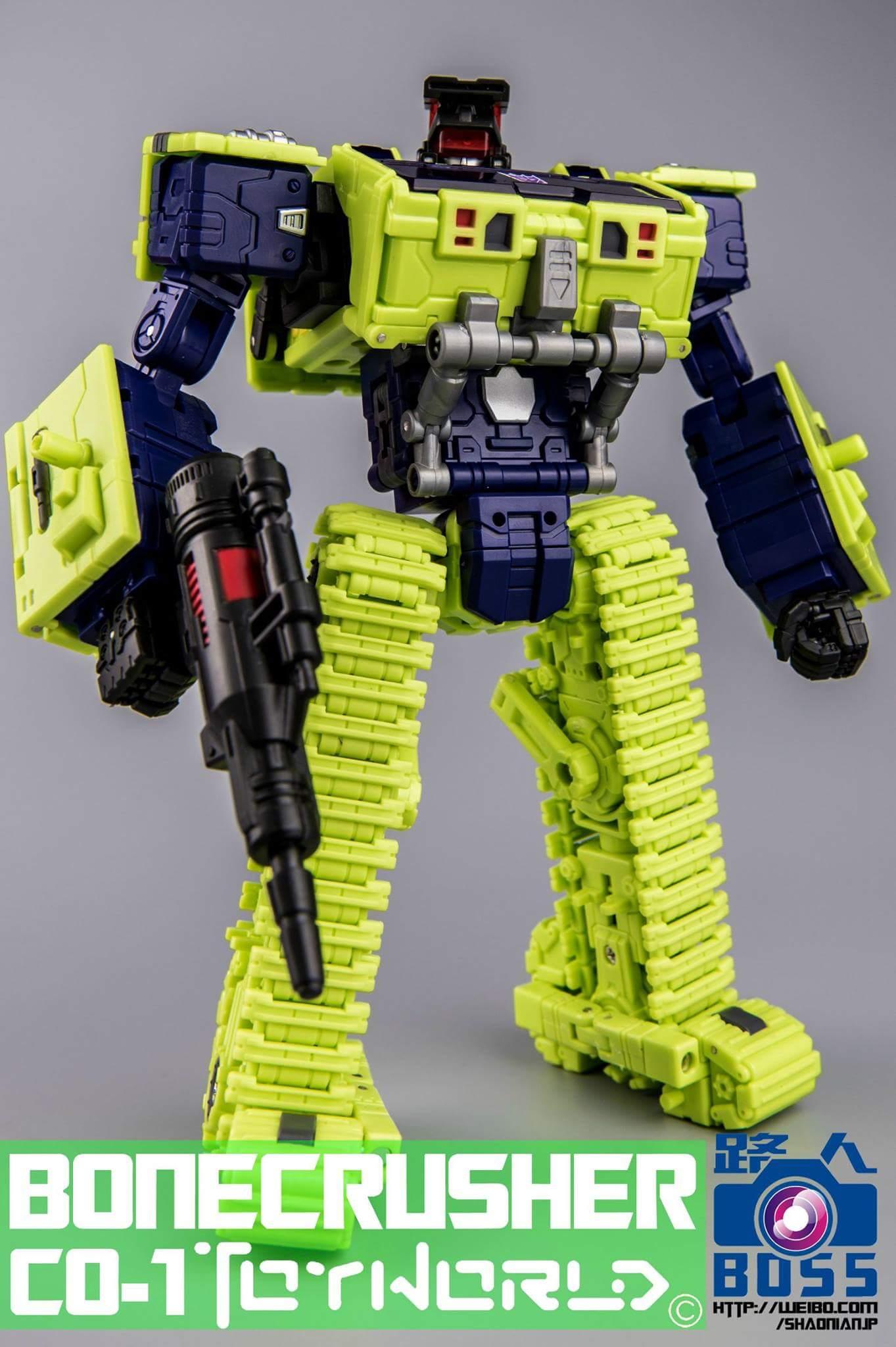 [Toyworld] Produit Tiers - Jouet TW-C Constructor aka Devastator/Dévastateur (Version vert G1 et jaune G2) - Page 3 VduZnLR9
