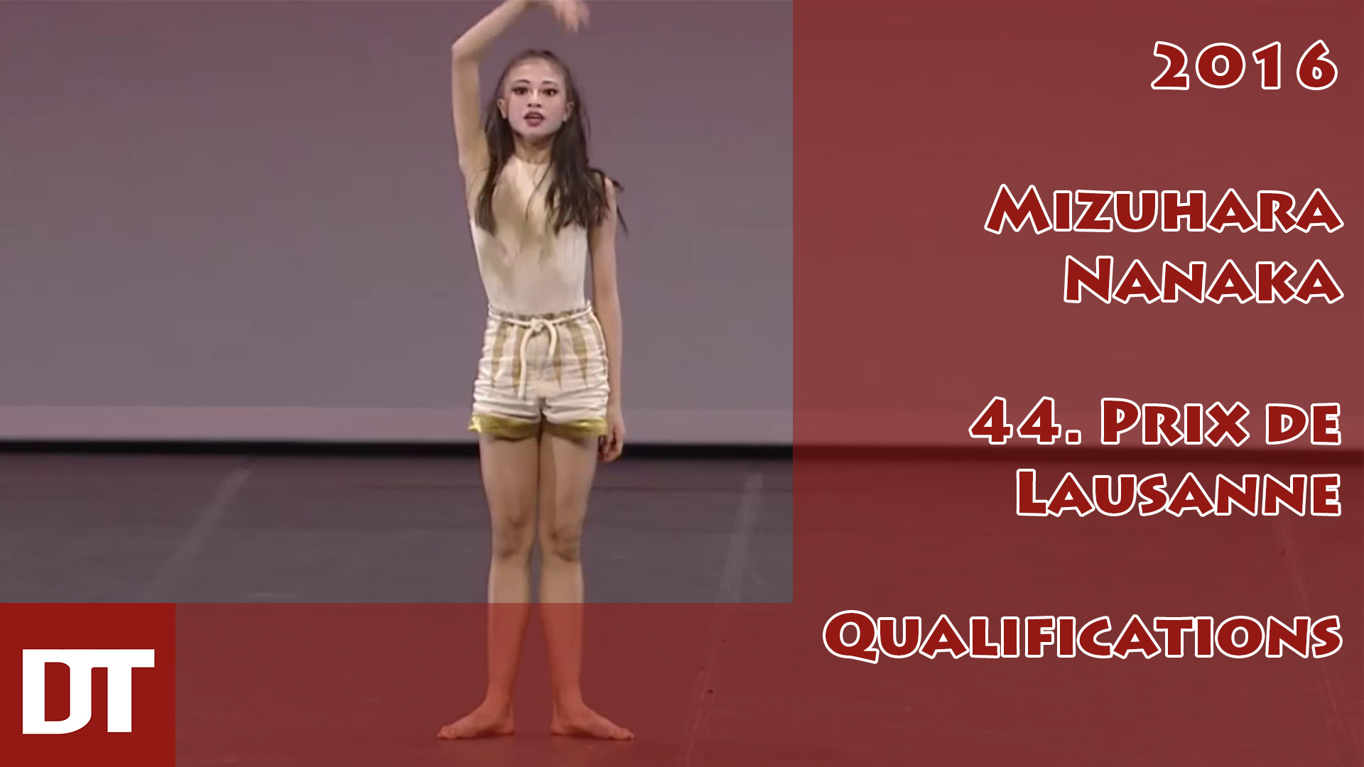 2016 – Mizuhara Nanaka – 44. Prix de Lausanne – Qualifications
