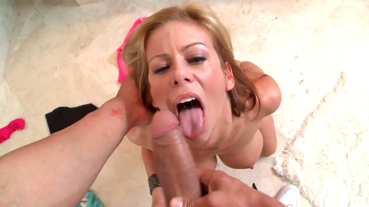 She Deepthroat office cumshot hot