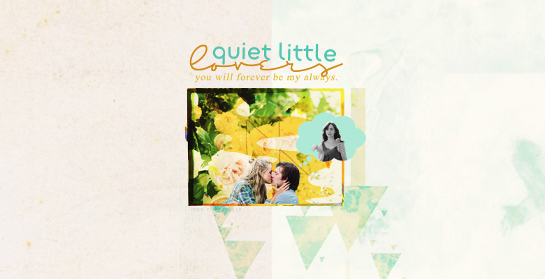 ❊ quiet little lovers