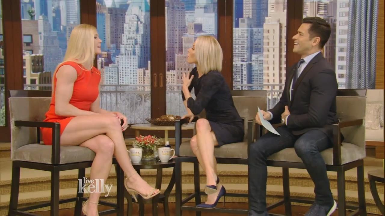 Holly Holm | Leggy on LIVE with Kelly Feb 8 2016