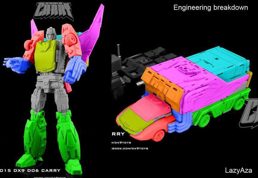 [DX9 Toys] Produit Tiers - Jouet D-06 Carry aka Rodimus et D-06T Terror aka Black Rodimus LxWnIpoJ