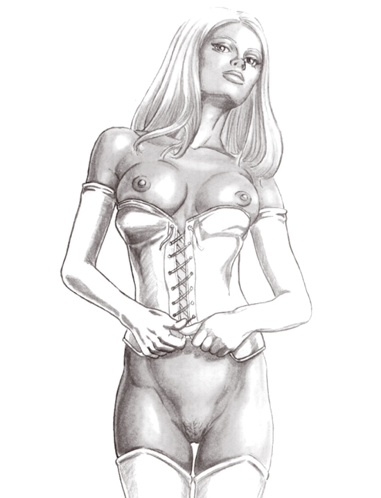 Marvel emma frost nude