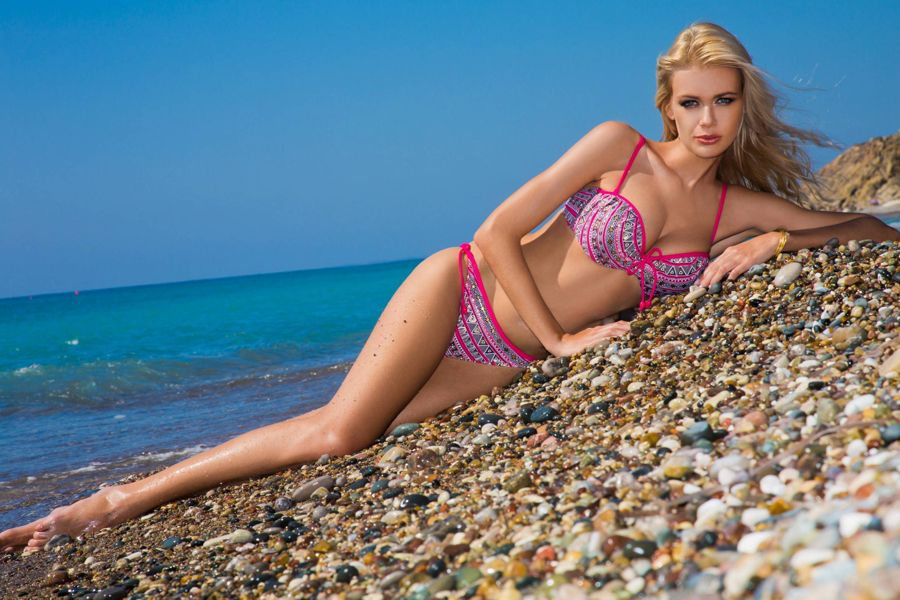 Anna Maria Sobolewska - Lavel Bikini Photoshoot AckRbscT