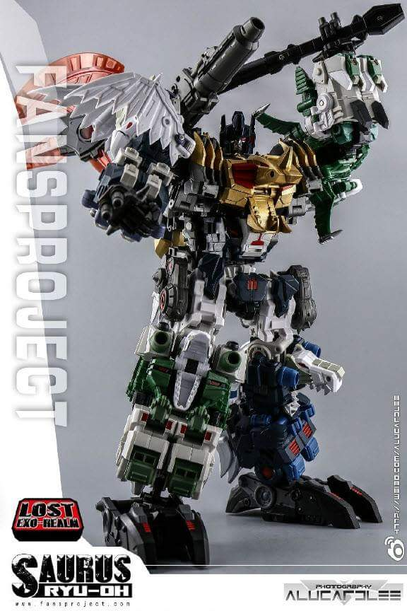 [FansProject] Produit Tiers - Jouet Saurus Ryu-oh aka Dinoking (Victory) | Monstructor (USA) - Page 2 RFZObCCU