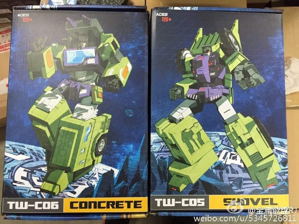 [Toyworld] Produit Tiers - Jouet TW-C Constructor aka Devastator/Dévastateur (Version vert G1 et jaune G2) - Page 5 KyqurXgw