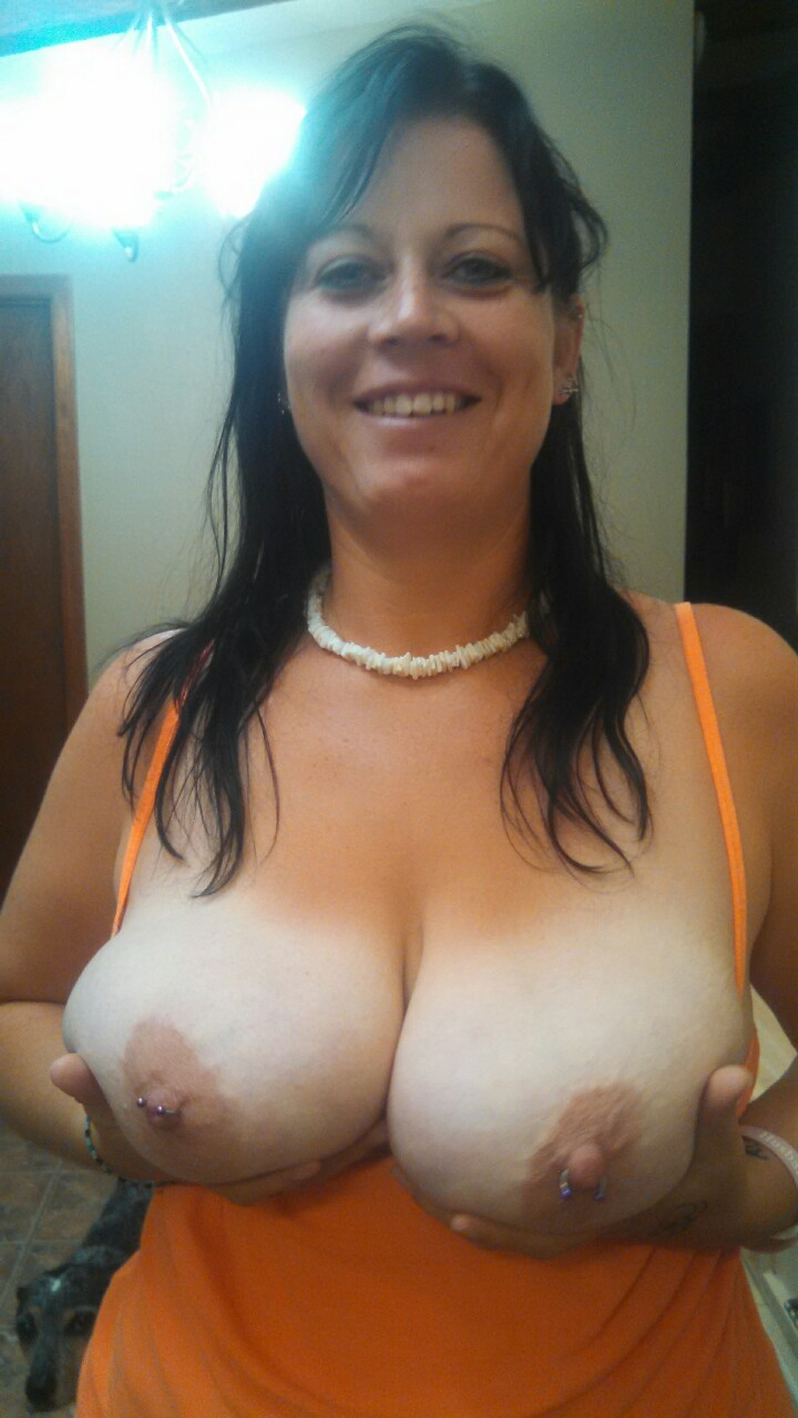 Real big tits wife