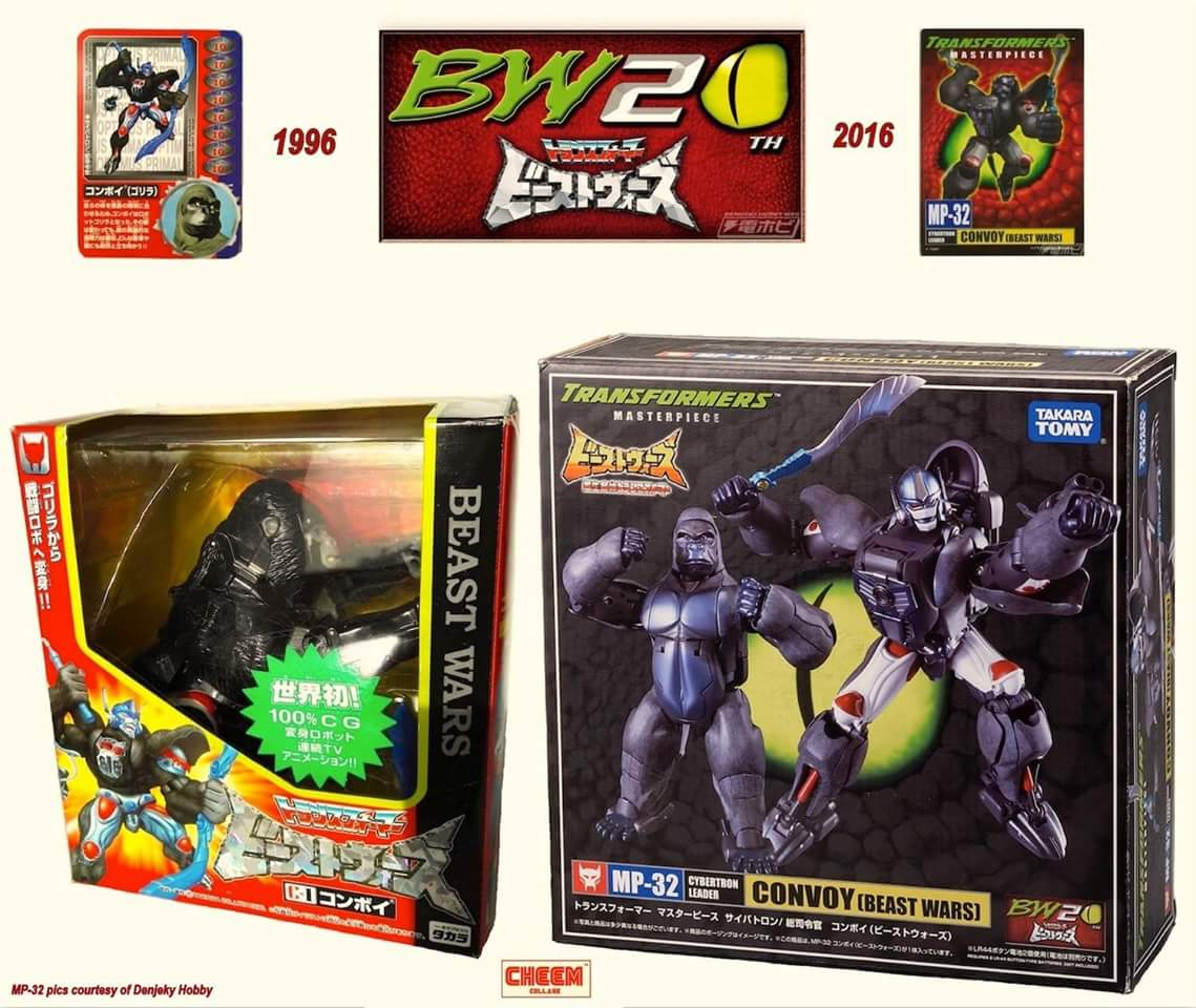 [Masterpiece] MP-32, MP-38 Optimus Primal et MP-38+ Burning Convoy (Beast Wars) - Page 3 W7C1UlDp