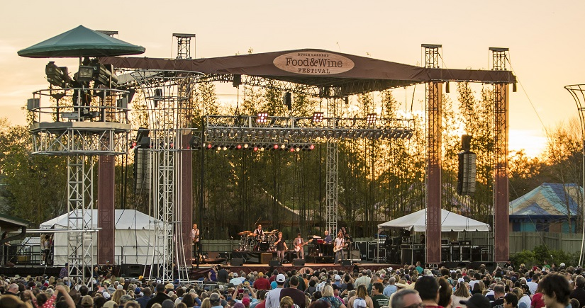 Busch gardens announces additional food wine concerts orlando theme park news for Busch gardens food and wine 2017