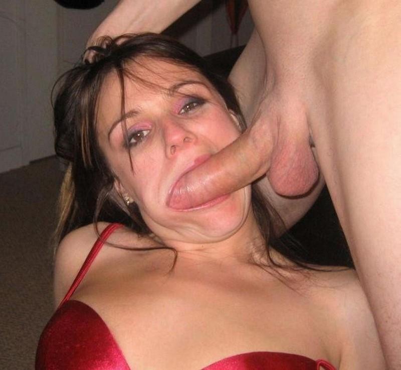 Частное фото в рот