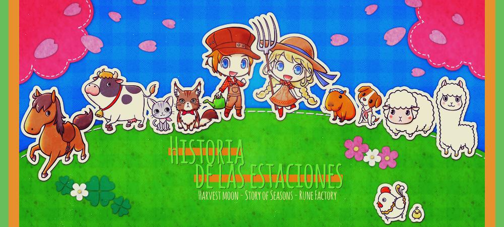 Historia de las Estaciones - Harvest Moon & Story of Seasons