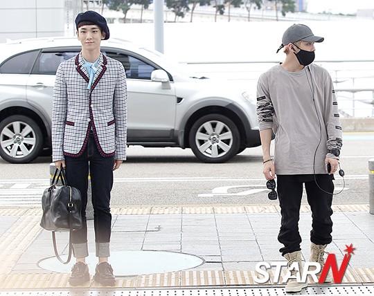 [IMG/160715] Jonghyun, Key @ Aeropuerto Incheon hacia Japón. F5c8kPXo