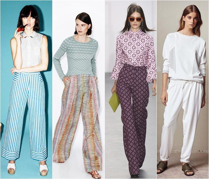 Pajama style pants spring/summer 2016