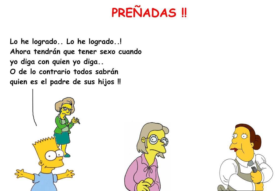 Simpson porno con Maggie y Lisa