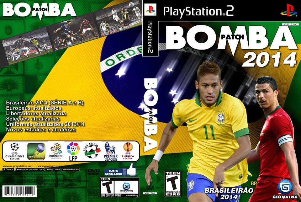 Bomba Patch 68 Capa 2016 Cover Ps2