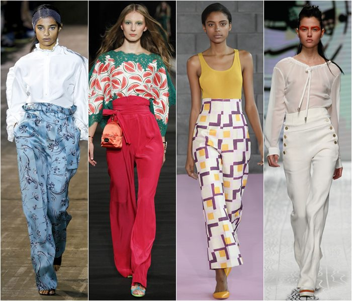 High waisted pants spring/summer 2016