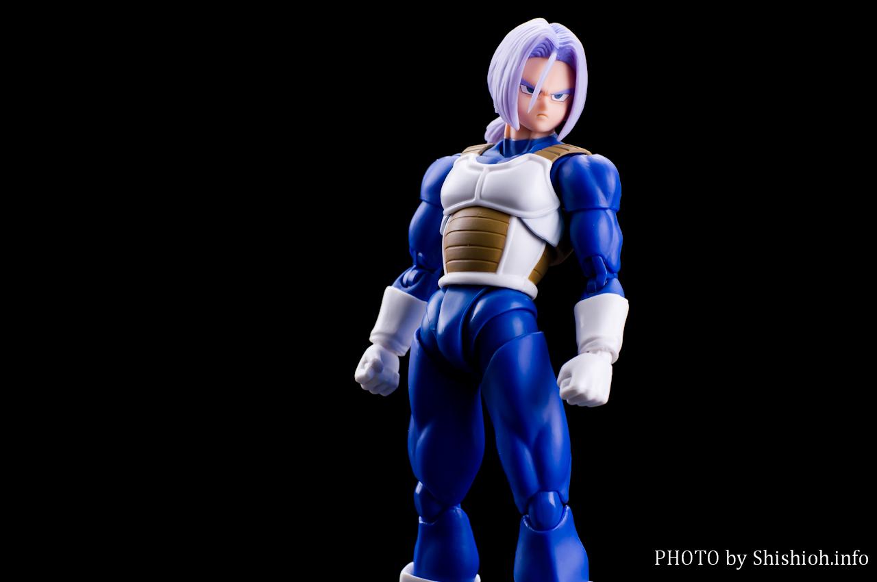 Sh Figuarts Dragon Ball Z Trunks Cell Saga Saiyan Armor