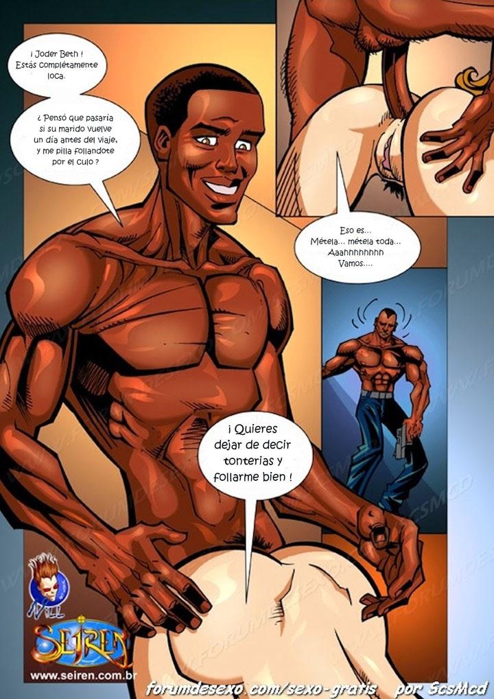 El dosier negro comic adulto