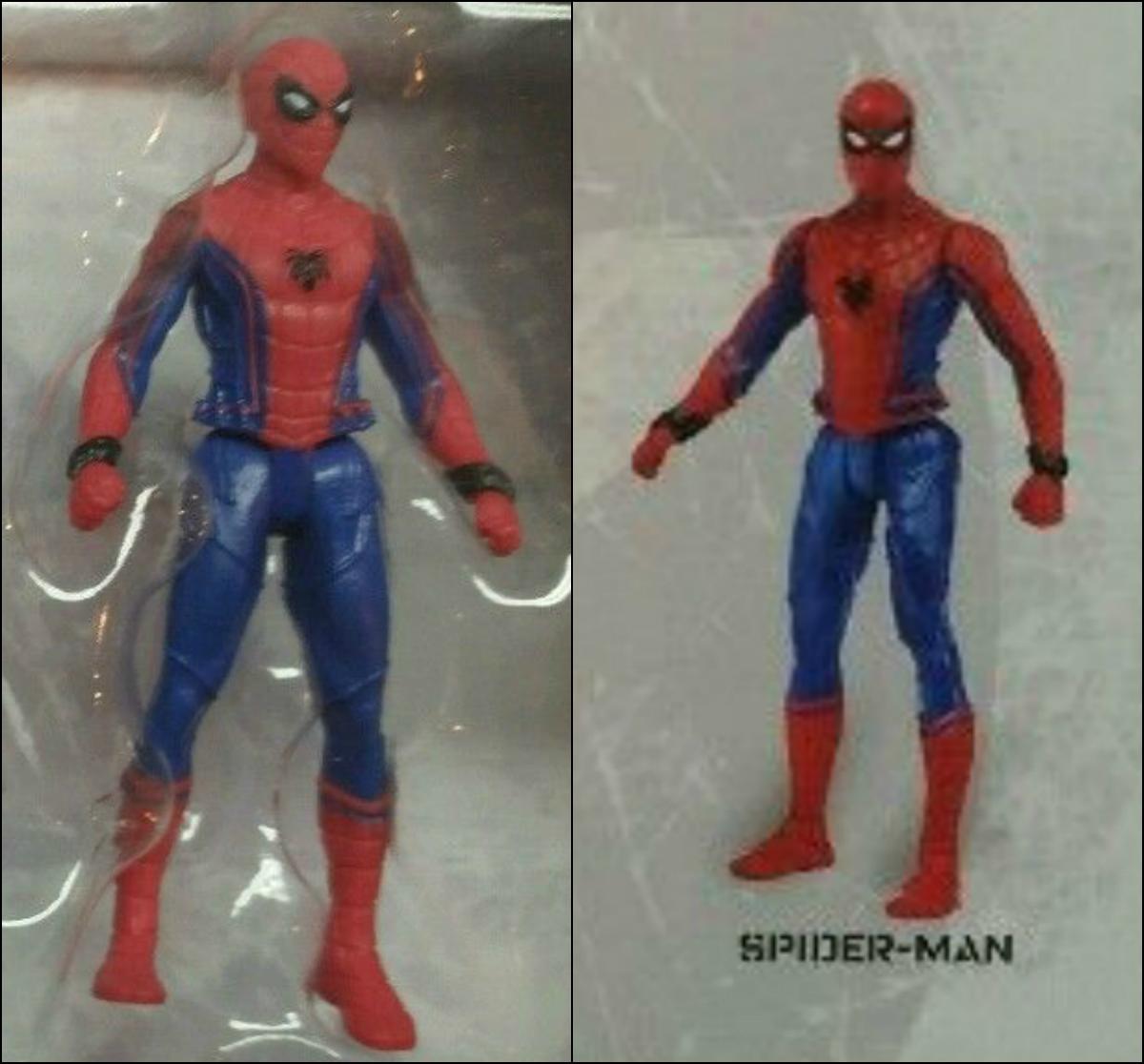 First Look Captain America Civil War Spider Man Figure
