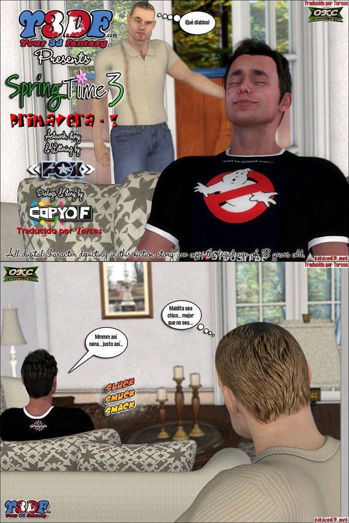 LA ZORRA DE MAMA-comic porno 01