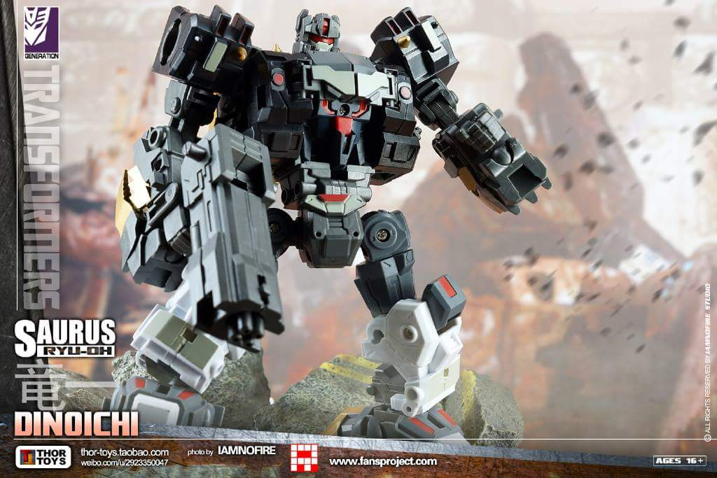 [FansProject] Produit Tiers - Jouet Saurus Ryu-oh aka Dinoking (Victory) | Monstructor (USA) - Page 2 RIoeF5Nc