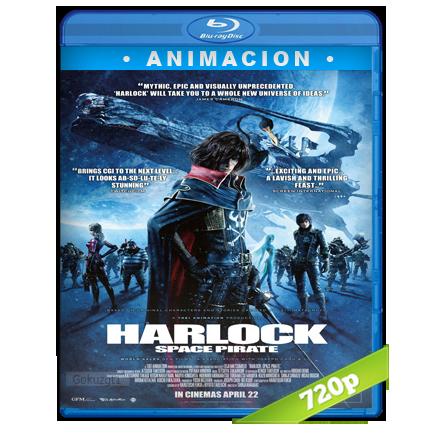 Captain Harlock (2013) BRRip 720p Audio Trial Latino-Castellano-Ingles 5.1