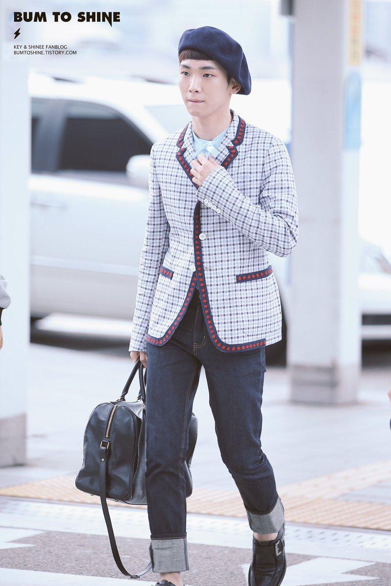 [IMG/160715] Jonghyun, Key @ Aeropuerto Incheon hacia Japón. MpTHfkuY