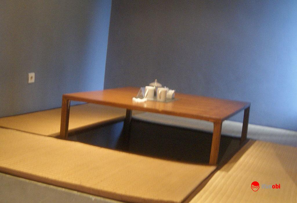 ruang santai di Tea Garden Resort