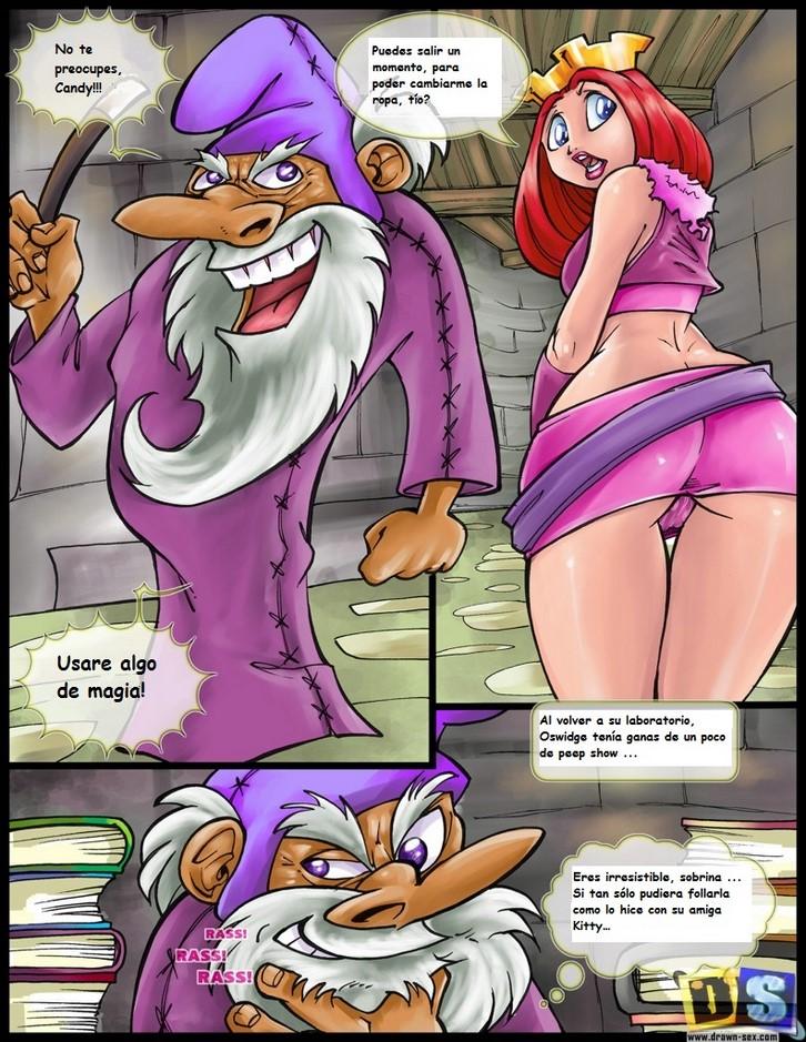 Locura xxx fiesta de sexo de dibujos animados