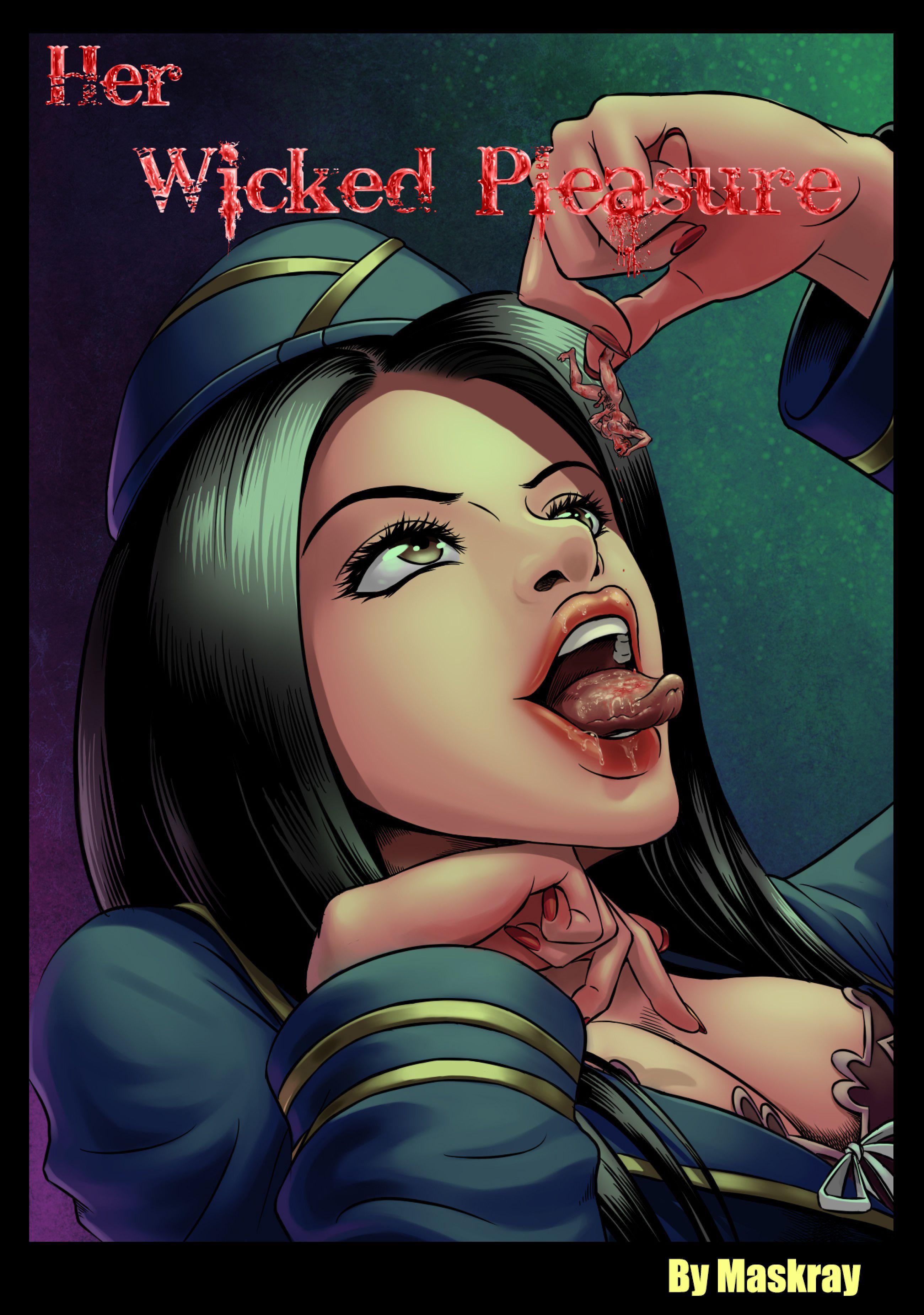 Her Wicked Pleasure Giantess