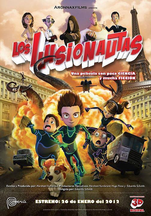 Los ilusionautas (2012)(DVDrip)(Latino)(Multihost)