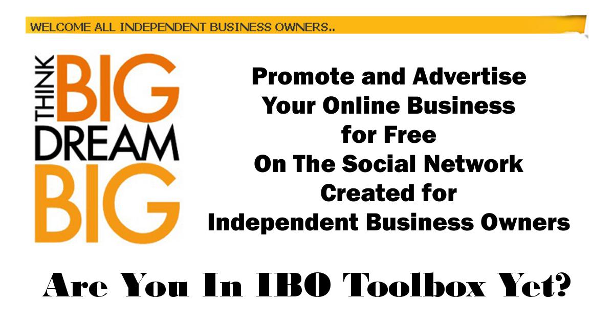 IBOtoolbox Business Marketing platform