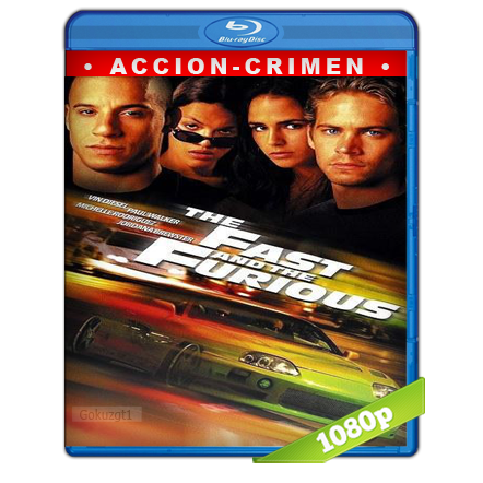 Rapido Y Furioso (2001) BRRip Full 1080p Audio Trial Latino-Castellano-Ingles 5.1
