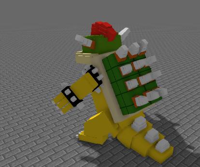 Super Mario 3d Land Bowser Rig Rigs Mine Imator Forums