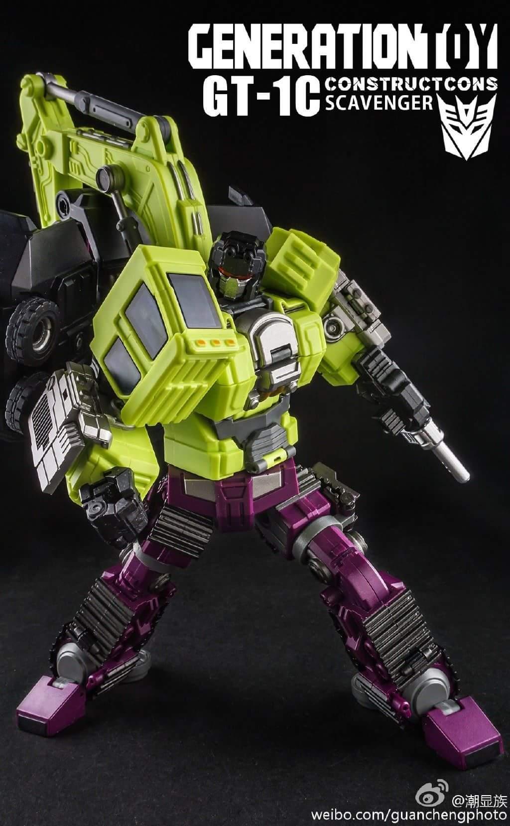[Generation Toy] Produit Tiers - Jouet GT-01 Gravity Builder - aka Devastator/Dévastateur - Page 3 HDHFrGRu