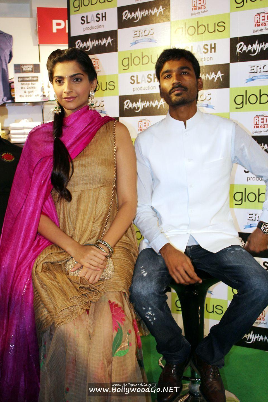 Sonam Kapoor and Dhanush at 'Campus Blues' Denim Fest AdmxKjYu