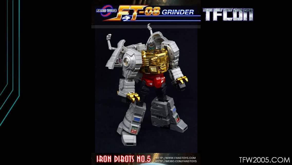 [Fanstoys] Produit Tiers - Dinobots - FT-04 Scoria, FT-05 Soar, FT-06 Sever, FT-07 Stomp, FT-08 Grinder - Page 9 0M8kVnIR