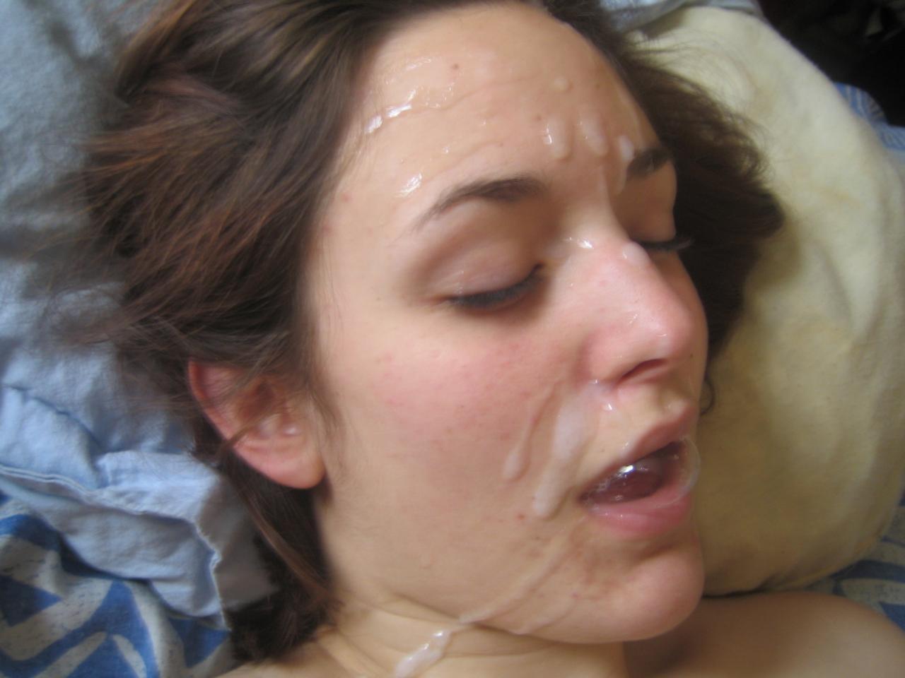 Trag dos putas soplar burbujas durante la succin