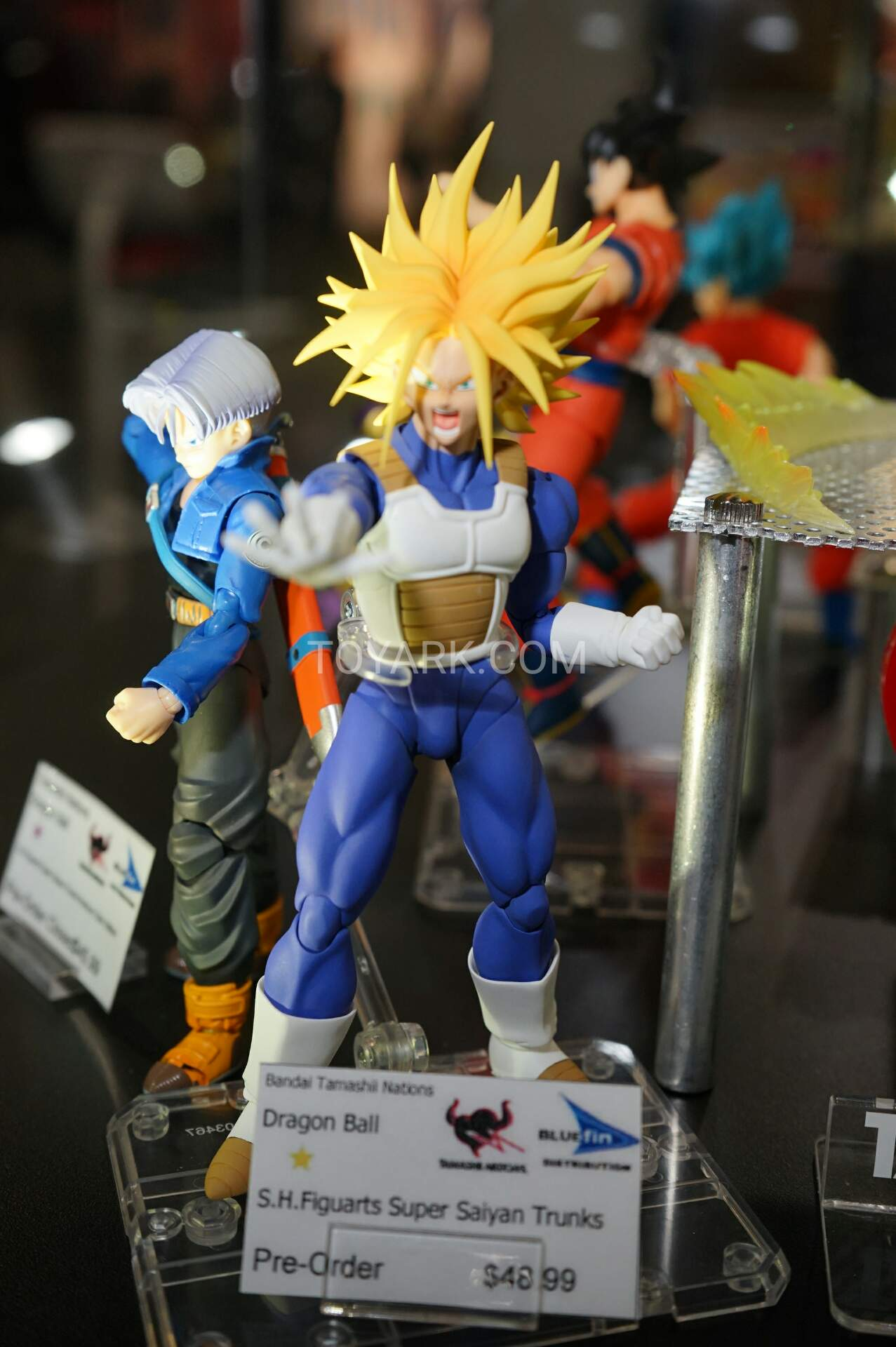 Dragon Ball Z Super SH Figuarts Armor Trunks Super Saiyan Head No Faces