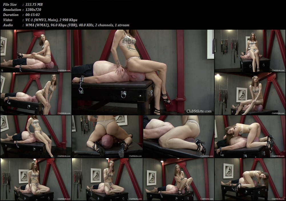 That was asshole cleaning slave sexy pusy Eva