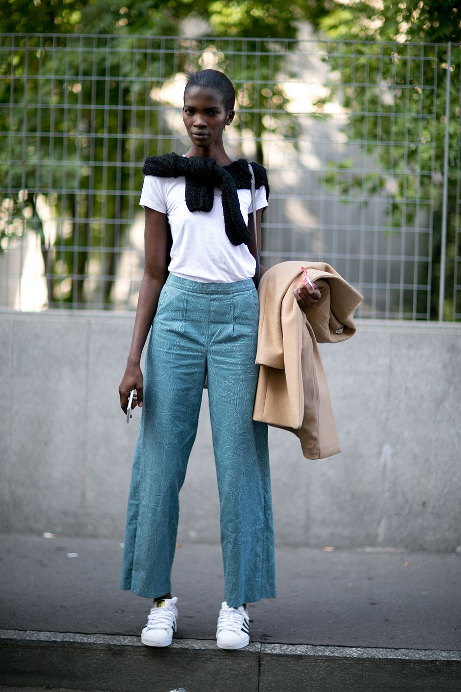 How to wear cropped jeans NYFW Fall/Winter 2016 pic 6