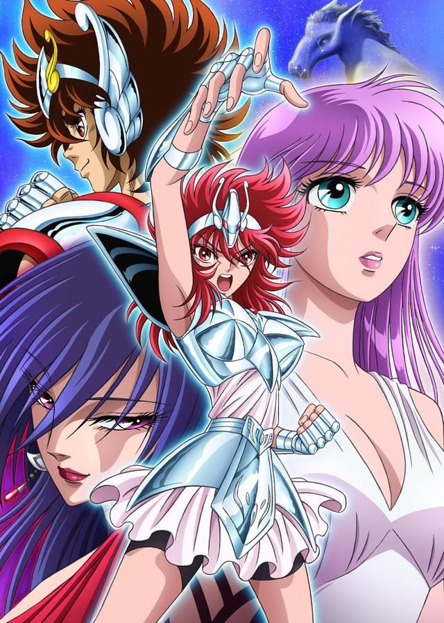 Saint Seiya Sainthia Sho: Nuovo Anime in arrivo