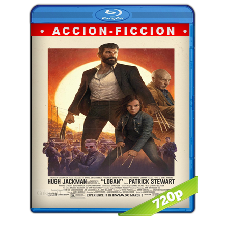 Logan Wolverine (2017) BRRip 720p Audio Trial Latino-Castellano-Ingles 5.1