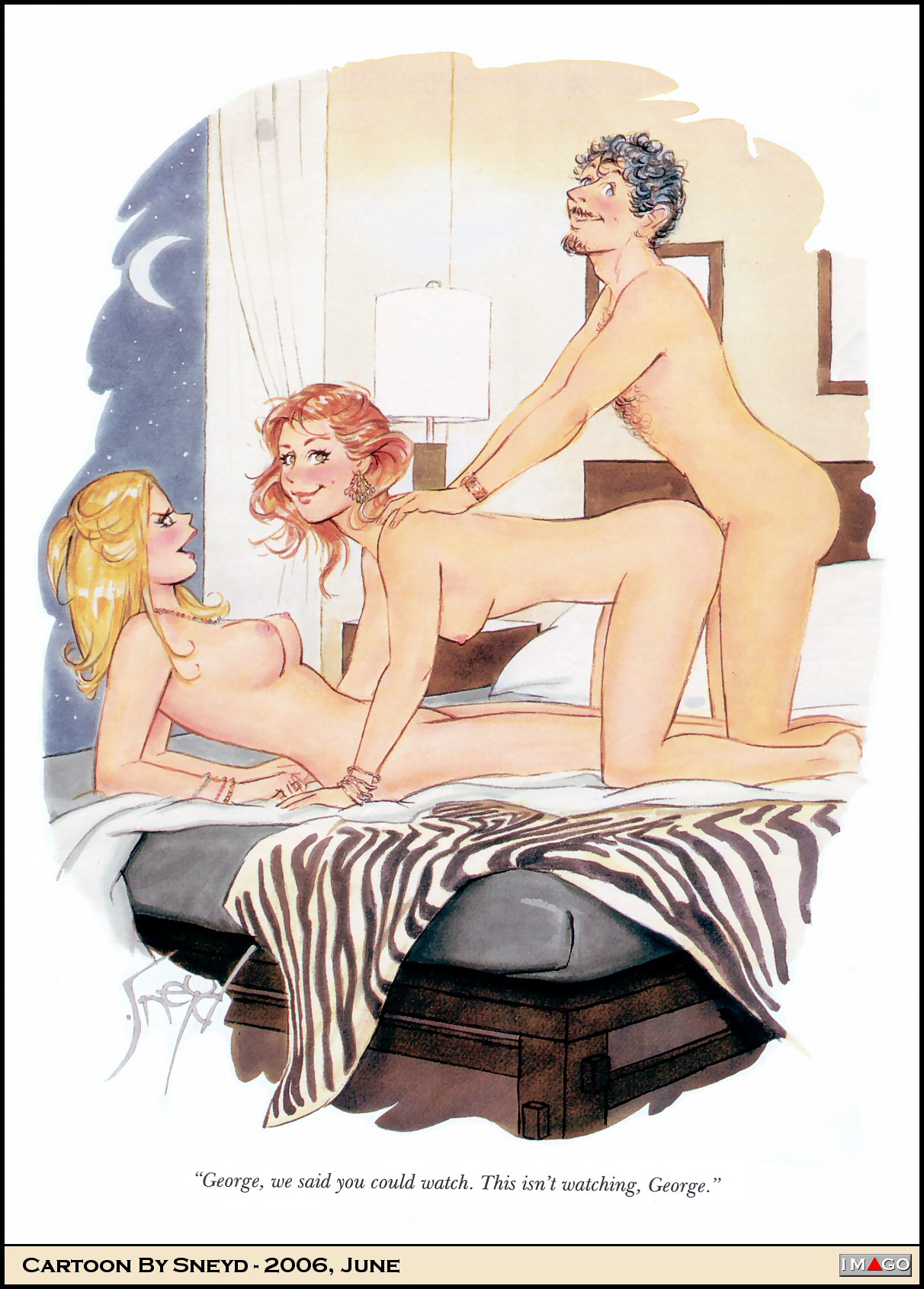 Erotic caricatures naked photos