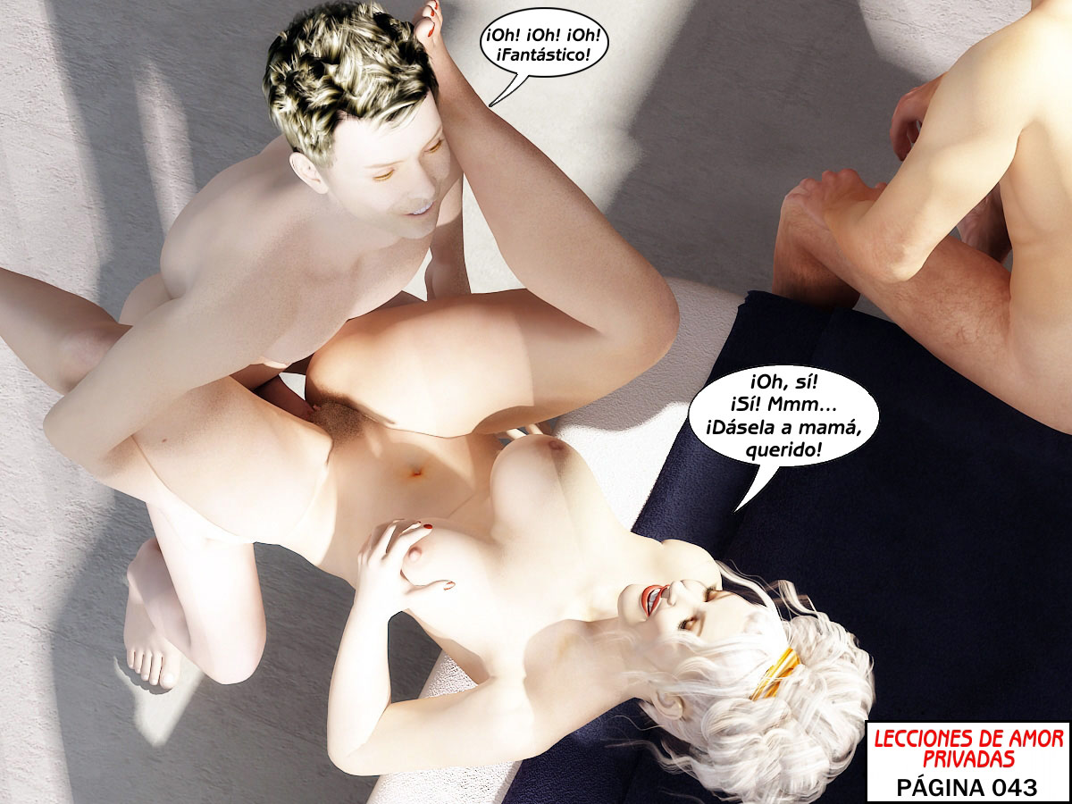 madre y padre son mis maestros del sexo