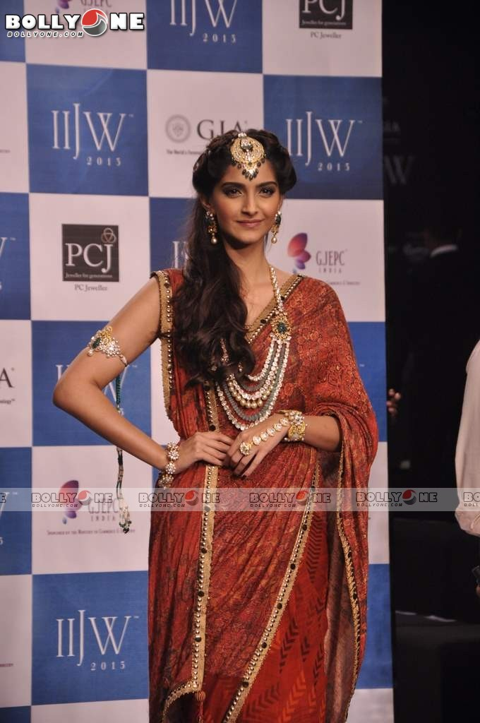 Sonam Kapoor Walks the Ramp at IIJW Grand Finale 2013 16 images  AcsQ3g5x