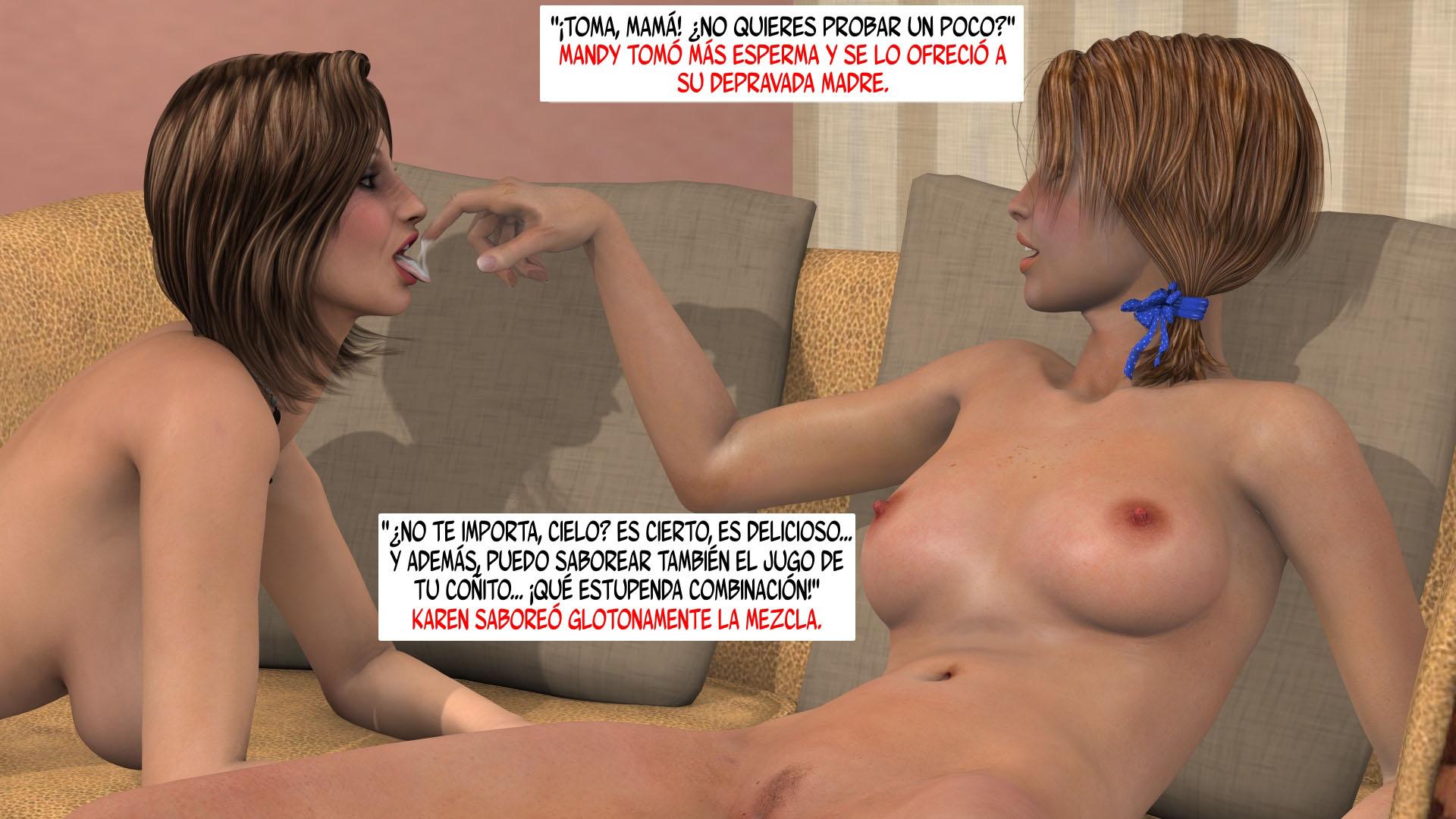 A Madre Porno de tal madre tal hija incesto 3d español ~ ver porno comics